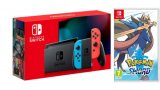 Nintendo Switch V2 , crveno - plavi (novo) + Pokemon Sword
