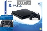 PlayStation 4 Slim 1000GB + 2x kontroler, (PS4 Slim 1TB - novo)
