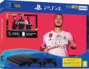 PlayStation 4 Slim 500GB + FIFA 20 + 2x kontroler (PS 4 Slim - novo)