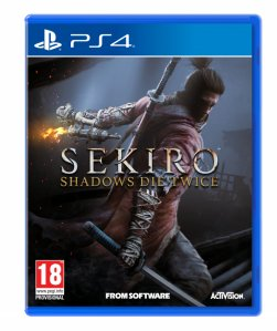 Sekiro Shadows Die Twice (Playstation 4 - novo)