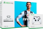 Xbox One Slim 1000GB (1TB) + 2x kontroler + FIFA 19 (Xbox One Slim - novo)