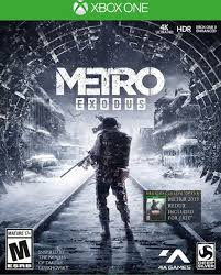 Metro Exodus Day One Edition (Xbox One - novo)